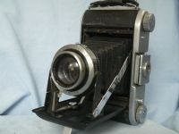 '   820 ' ENSIGN   SELFIX 820 with 105mm f3.8 ROSS XPRES LENS Vintage Folding 6X9 Camera -NICE- £64.99